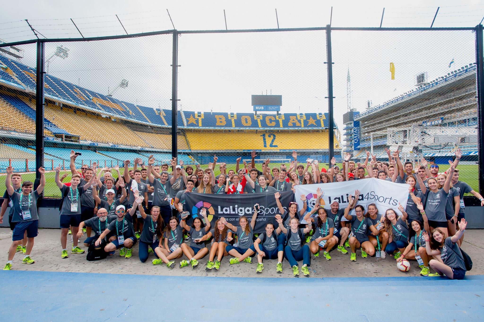 Una experiencia inolvidable para los jóvenes deportistas españoles en Buenos Aires